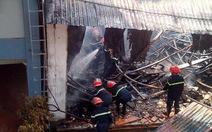 Cháy xưởng gỗtại Cụm công nghiệp làng nghề Liên Hà