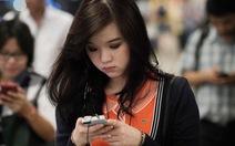 Mua sắm qua smartphone thành thói quen của người Việt