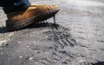 Sử dụng vật liệu mớibảo trì đường bộ