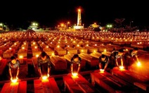 Hơn 1.500 người thắp nến tri ân nhân ngày 27-7