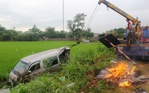 Một buổi sáng hai vụ tai nạn giao thông, 4 người chết