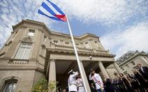 Lễ kéo quốc kỳ Cuba ở thủ đô Mỹ