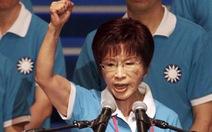 Nữ ứng cử viên tranh cử lãnh đạo Đài Loan