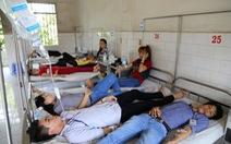 160 công nhân đau bụng phải nhập viện sau bữa ăn