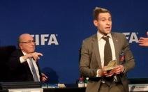 Người làm nhục Blatter đã được thả