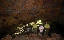 Không mở tour tham quan hang động núi lửa Krông Nô