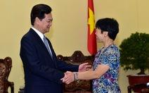 Thủ tướng tiếp nhà vật lý Lưu Lệ Hằng