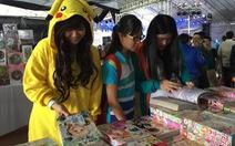 Lễ hội truyện tranh Nhật thu hút bạn trẻ Việt