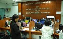 Doanh nghiệp Hà Nội nợ thuế nhiều nhất: 75 tỉ đồng