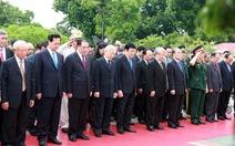 Điểm tin: Lãnh đạo Đảng, Nhà nước dâng hương các anh hùng liệt sĩ