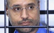 Con trai ông Gaddafi bị tuyên án tử hình