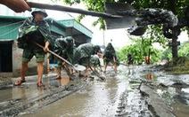 Huy động quân đội, công an khắc phục mưa lũ ở Quảng Ninh