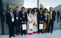 Đinh Tuấn Hoàng đoạt huy chương vàng Olympic hóa quốc tế 2015