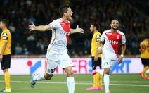Monaco đặt một chân vào vòng play-off Champions League