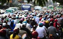 Báo cáo Thủ tướng việc tạm dừng thu phí xe máy