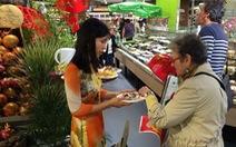 Hàng Việt xuất ngoại qua siêu thị