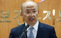 Hàn Quốc bãi nhiệm bộ trưởng y tế sau đại dịch MERS