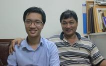 Cha, con và 2 huy chương vàng toán quốc tế