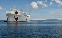 """""""Siêu bệnh viện"""" 1.000 giường của Hải quân Mỹ đến Việt Nam"""