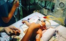 Sức khỏe bé Dương Minh Phát tiến triển rất tốt