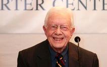 Cựu tổng thống Mỹ Jimmy Carter bị ung thư