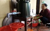 Hỗ trợ dân tiền mua thiết bị lọc nước
