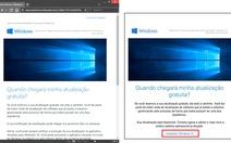 Giả mạo trang cài đặt Windows 10 tấn công người dùng