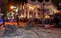 Hai người bị tình nghi đánh bom Bangkok ra trình diện