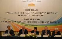 """Việt Nam""""Làm bạn với các nước, không gây thù oán với ai""""."""