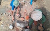 Phát hiện nhiều hiện vật quý tại di sản Thành nhà Hồ