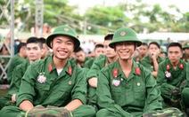Hơn 2.000 thanh niên TP sẵn sàng nhập ngũ đợt 2-2015