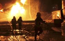 Cháy dữ dội sau vụ nổ nhà máy hóa chất Trung Quốc