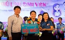 Nguyễn Công Thành đoạt giải thủ lĩnh sinh viên Bình Dương