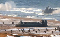 Triều Tiên tiếp tục triển khai 10 tàu đổ bộ