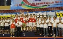 TP.HCM giành vị trí nhất toàn đoàn ở Hội thao ngành tòa án