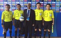 Trọng tài Malaysia điều khiển trận Đồng Nai - HAGL