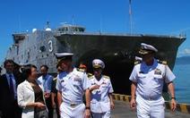 Đô đốc Scott Swif: Trung Quốc khiến nhiều nước lo ngại
