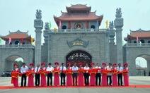 Khánh thành cổng vào trung tâm lễ hội Khu di tích Đền Hùng