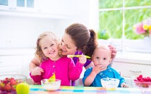 Đổi món cho con để tăng phần ngon miệng