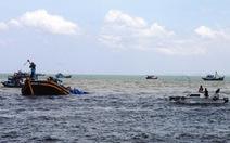 Tìm kiếm 7 ngư dân mất tích trên biển Bình Thuận