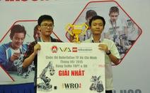 Trường ĐH KHTN TP.HCM đoạt giải nhất Robotacon