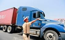 Xử phạt các doanh nghiệp có xe chở hàng quá tải