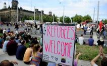 Người Đức xuống đường chào đón dân tị nạn