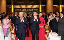 Lãnh đạo Đảng, Nhà nước chiêu đãi ngoại giao đoàn