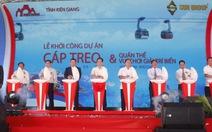 Khởi công cáp treo Hòn Thơm - Phú Quốc dài nhất thế giới