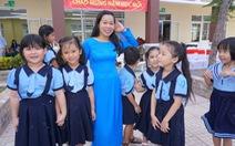 Niềm vui được học trong ngôi trường mới