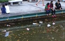 Bao giờ mới hết mắc cỡ vì thành phố đầy rác?