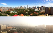 Sau lễ diễu hành, bầu trời Bắc Kinh xám xịt trở lại