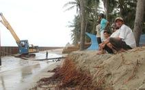 Rà soát thủy điện, khai thác cát cứu bờ biển Hội An