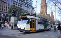 Một ngày trên xe điện ở Melbourne